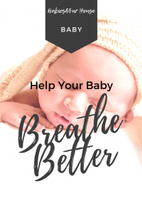 Baby Congestion: Help Baby Breath Easier #babycongestion #newborntips
