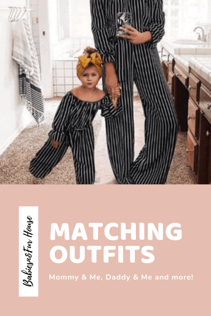 Matching Outfits: Mommy & Me Style #matchingoutfits #mommyandme #familypictures #pictureideas