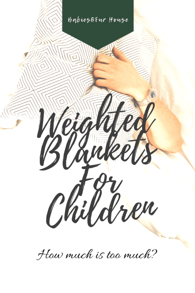Weighted Blankets For Children: How Much Is Too Much #kidsweightedblanket #weightedblanketsforkids