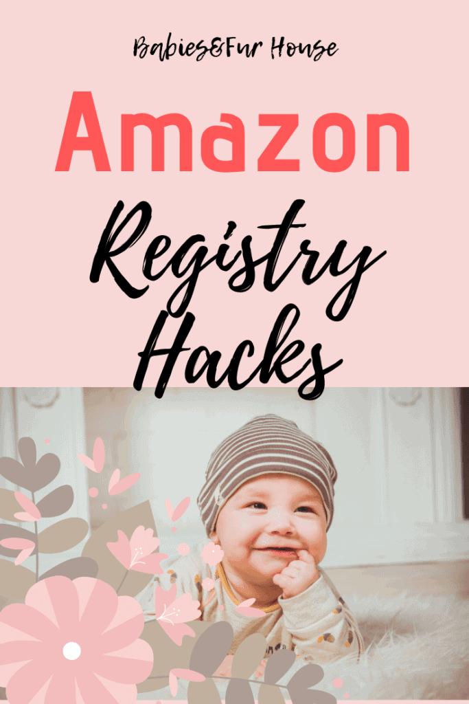 Amazon Baby Registry Hacks #babyregistry