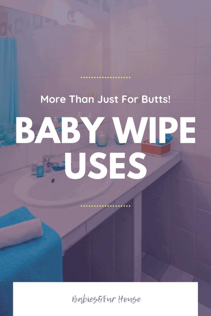 Baby Wipe Uses #baby #babywipes #newborntips