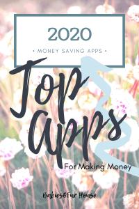 Money Saving Apps #moneysaving #frugalliving #moneyapps #apps #top apps