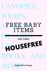 FREE Baby Items with 1 code! #Babyitems #newborn #pregnancyitems #pregnancy