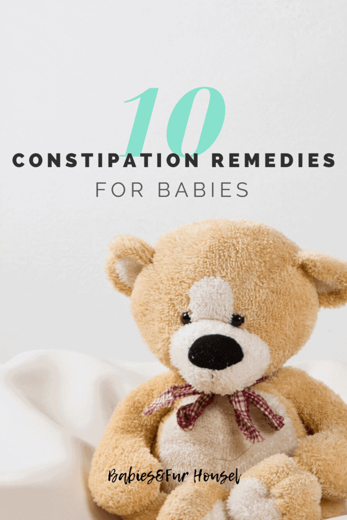 10 Constipation Remedies For Babies #newborn #babytips #constipation #babyconstipation #babypoop #babypoopproblems
