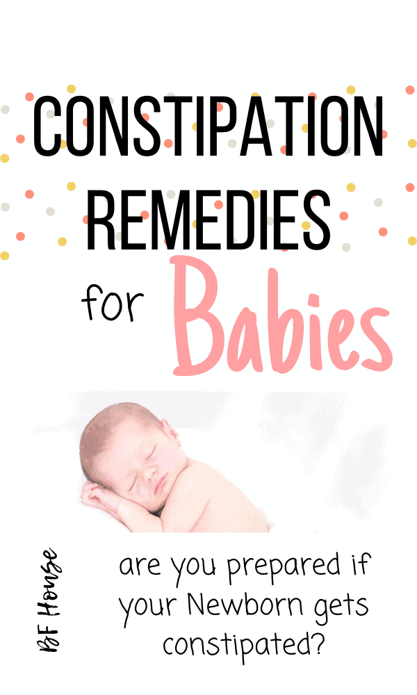 Constipation Remedies For Babies