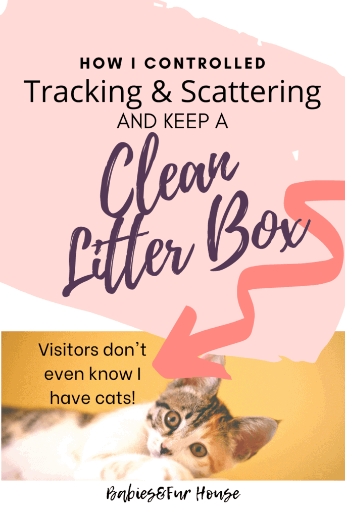 Keep A Clean Litter Box: Control Tracking & Scatter #litter #catbox #catlitter #litterbox #petcleanup #cleaningwithpets