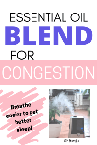 Essential Oils For Congestion.