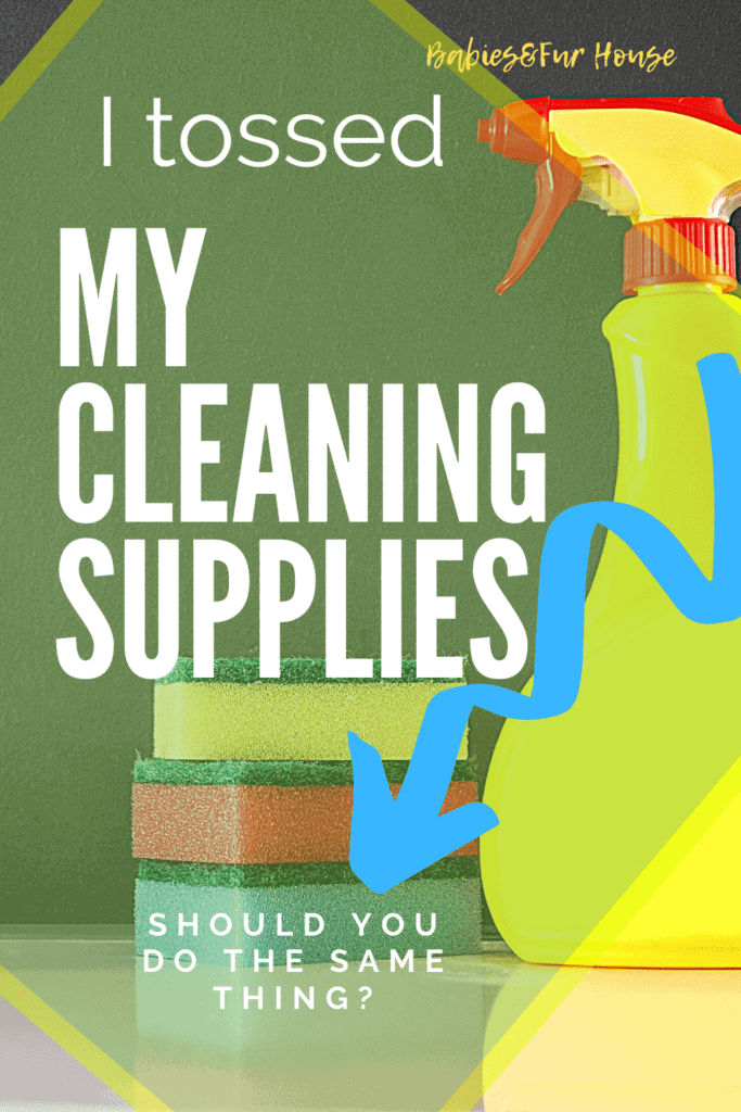 Clean Naturally: Throwing Out Cleaning Supplies #naturalcleaning #cleaning #cleaningsupplies