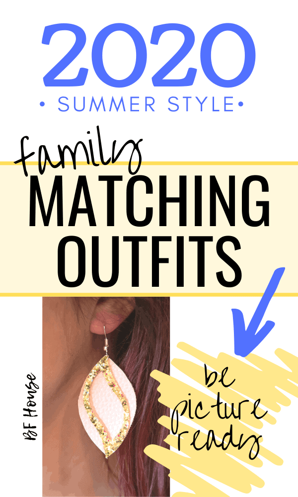 Matching Outfits For The Entire Family. Be picture ready this Summer.