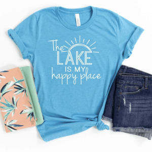 The Lake Is My Happy Place Tee